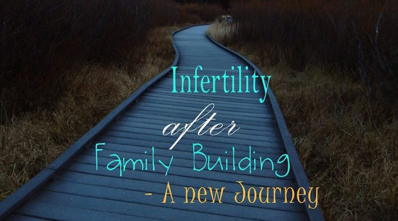 Infertility After Family Building – A New Journey